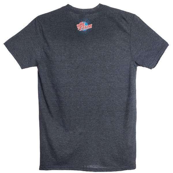 Not Your Inspirational Story T-Shirt Dark Grey back