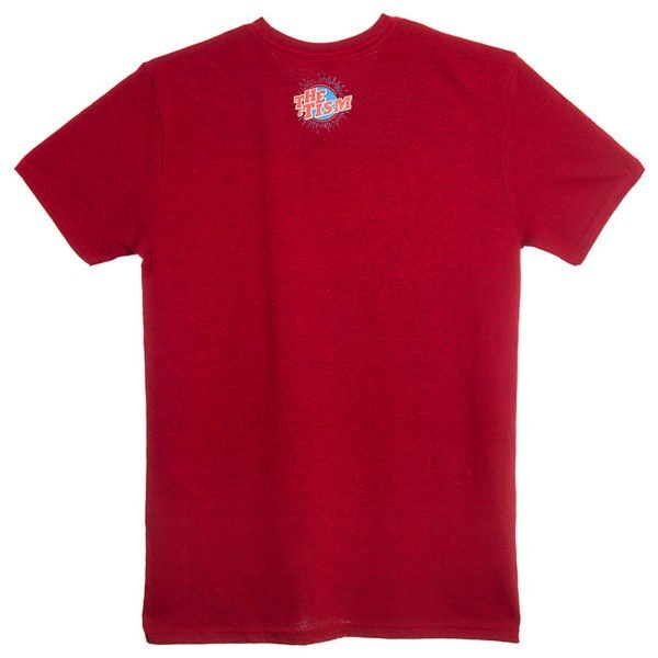 Not Your Inspirational Story T-Shirt Red back